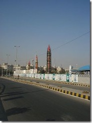 Pakistani missiles on display in Karachi in 2008.