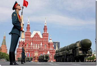 Moscow's Red Square Military Might